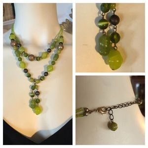 Jewelry - Green Bead Necklace